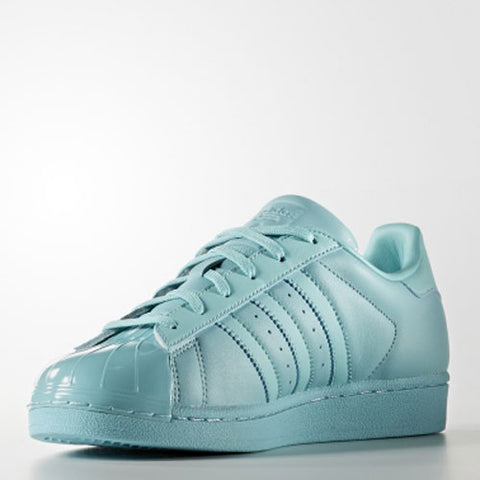 RELOCATION SALE Now Only £14.99!! Last 7 x adidas Originals Superstar Womens Trefoil Glossy Toe Trainers BB0529 rrp£90