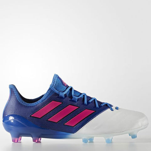 Last 6 x adidas Ace 17.1 Leather Firm Ground Football Boots Mens rrp£210 (BB4321) - Was £59.99 Now £39.99