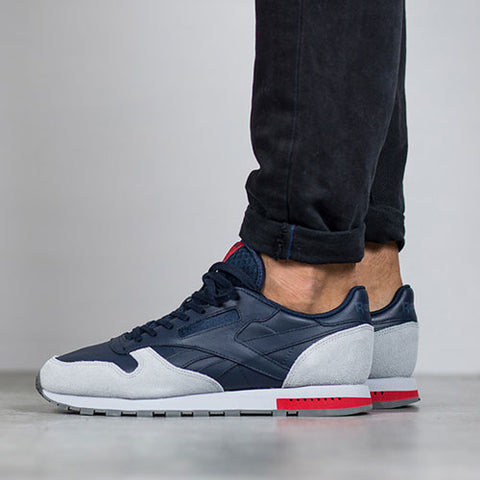 Last 6 x Reebok Mens Classic Leather GN Trainers rrp£85 (BD4415) - Was £27.89 - Only £22.99