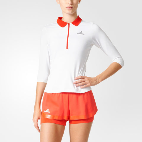 30 x adidas Stella McCartney Barricade 3/4 Sleeve Womens Tennis Tops BK7955 rrp£50 Only £6.49 (60 In Stock)