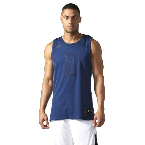 Last 28 x adidas Performance Mens Lillard Dame Basketball Jerseys (BP7486) rrp£55 - Incredibly Only £6.49