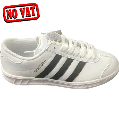Last 5 x adidas Originals Hamburg J Junior Unisex Trainers (BY1597) UK 4.5 rrp£50 - Only £15.99