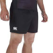 10 x Canterbury Men's Black Professional Rugby Shorts (C07250) rrp £25, Now Only £5.49!