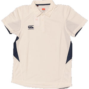 18 x Canterbury Mens Cricket Shirts White / Navy E533306-070 rrp£30 Only £6.49