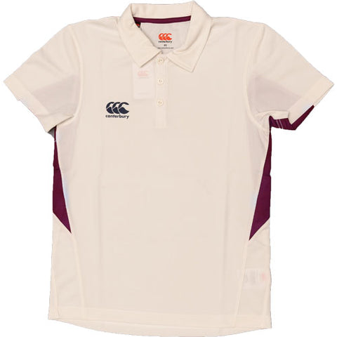 26 x Canterbury Mens Cricket Shirts Cream/ Ivory E533306-040 rrp£30 Only £6.49