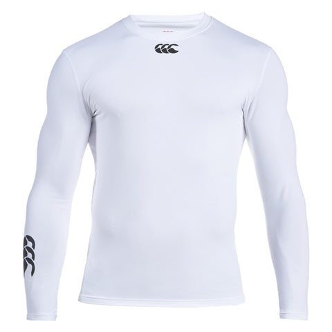 30 x Canterbury Junior Baselayer Long Sleeved Rugby, Fitness, Football Tops White rrp£35 Only £6.99!!