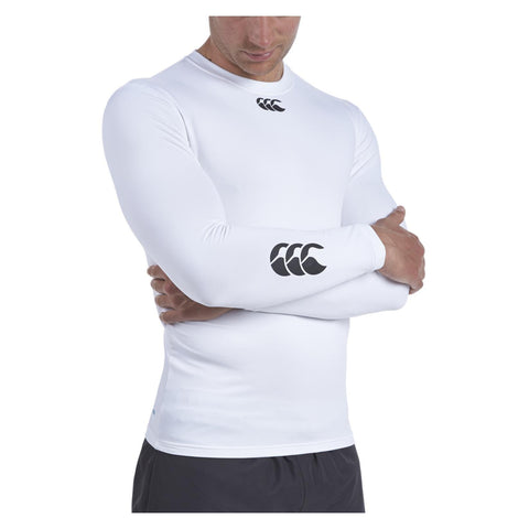 24 x Canterbury Junior Baselayer Long Sleeved Rugby, Fitness, Football Tops White rrp£30 Only £6.99!!