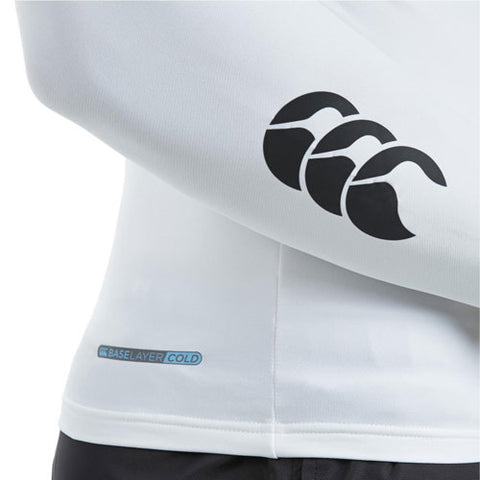 25 x Canterbury Mens Baselayer Long Sleeve Tops Rugby, Fitness, Football, Cycling White rrp£35 Only £8.39!!