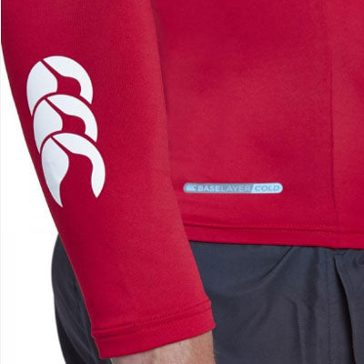 32 x Canterbury Mens Baselayer Long Sleeve Tops Rugby, Fitness, Football, Cycling Red rrp£35 Only £8.39!!