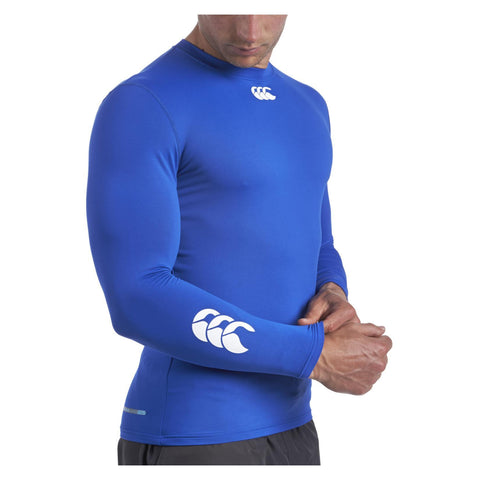 19 x Canterbury Junior Baselayer Long Sleeved Rugby, Fitness, Football Tops Blue rrp£30 Only £6.99!!