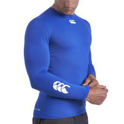 20 x Canterbury Mens Baselayer Long Sleeve Tops Rugby, Fitness, Football, Cycling Blue rrp£35 Only £8.39!!