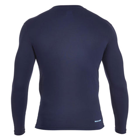 21 x Canterbury Mens Baselayer Long Sleeve Tops Rugby, Fitness, Football, Cycling Navy rrp£35 Only £8.39!!