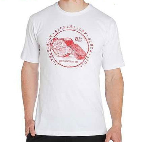 20 x Canterbury Rugby Men's Whistle T-Shirts - White (E546671 001) rrp£28, Now Just £7.49!!