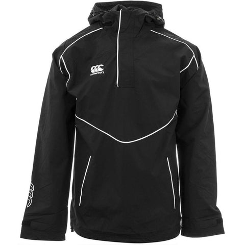 12 x Canterbury Men's Black Club 1/4 Zip Showerproof Jacket (C07386) rrp£60, Now Just £7.19!!