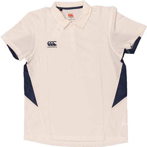 26 x Canterbury Junior Cricket Shirts White / Navy E733306-070 rrp£22 Only £5.99