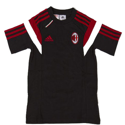 Last 35 x adidas AC MIlan FC Junior T-Shirts rrp£30 Only £7.59 each - NO VAT !! BARGAIN !!