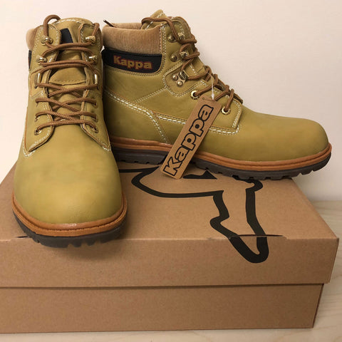 20 x Kappa Colorado 3 Mens 974 Yellow Camel Boots rrp£58 - Incredibly Only £12.99