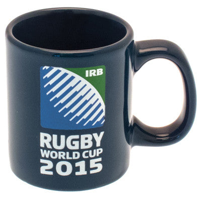 267 x Rugby World Cup RWC 2015 Navy Coffee / Tea Mugs rrp£7 - Only 39p each!!