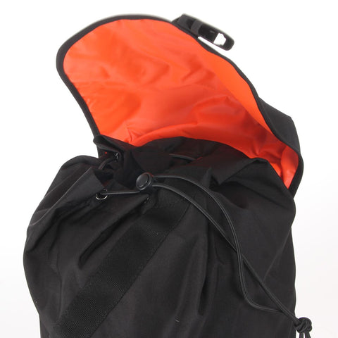 7 x adidas Climacool Studio Backpack (M65454) Black / Orange rrp£50 - Only £13.49