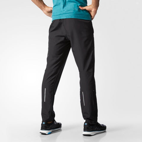 Last 10 x adidas adizero Mens Run Wind Track Trousers S10053 rrp£50 Only £11.69