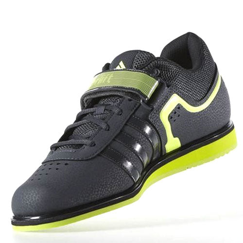 ef09d79b5666 ... 50 x adidas Powerlift 2.0 Grey   Solar Yellow   Core Black Mens Weightlifting  Shoes S77950 ...