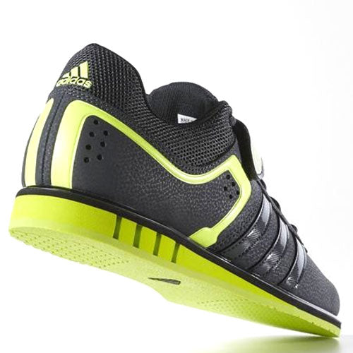 ... 50 x adidas Powerlift 2.0 Grey / Solar Yellow / Core Black Mens Weightlifting  Shoes S77950 ...