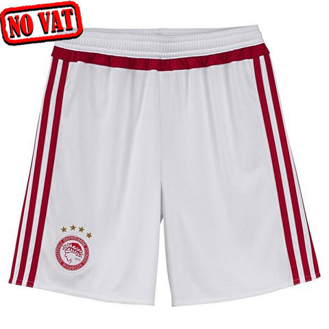 Last 50 X adidas Olympiacos FC Home Replica Youth Shorts rrp£25 (S89358) Only £3.59 Now £2.59
