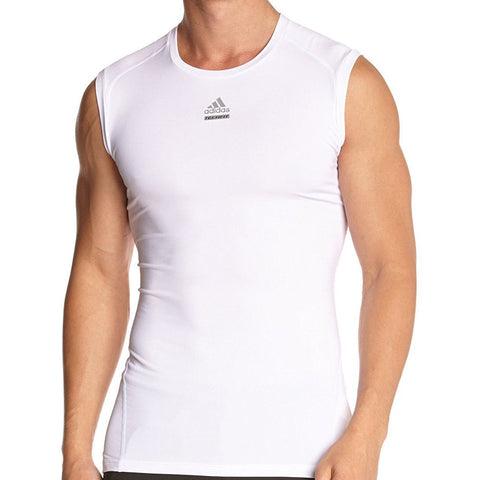 34 x adidas Techfit Chill Mens Sleevless Compression Tops (S95723) rrp£50 - Incredibly Only £7.99