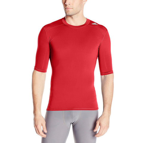 20 x adidas Performance Mens Techfit Compression T-Shirts (S95729) rrp£40 - Incredibly Only £7.99