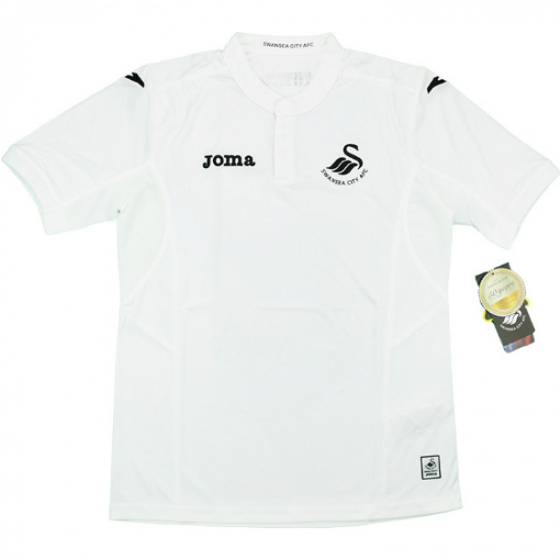 ade0e78b5132 20 x Joma Swansea Football Club Home Boys Jerseys rrp£40 Was £5.49 Now £4.49