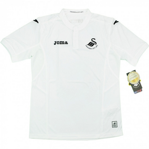 CLEARANCE SALE #OFFER 3 - 20 x Joma Swansea Football Club Home Boys Jerseys rrp£40 Only £2.99!!