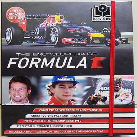 133 x Formula 1 Official Encyclopedia with DVD & Gift Folder rrp£20 Only £2.39 - Amazing Deal (more to follow) NO VAT !!!