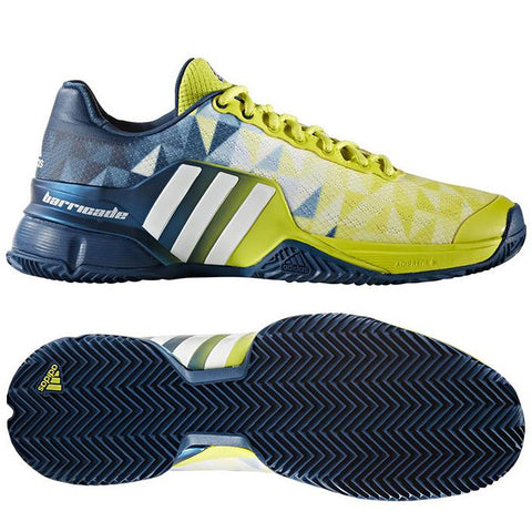 10 x adidas Barricade Mens Tennis Trainers BB4219 rrp£140 Only £27.99 (20 In Stock)