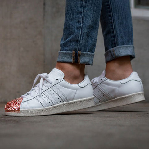 Last 11 x adidas Originals Womens Trefoil Superstar 80s Metal Toe Trainers BB2034 rrp£100 Only £44.99
