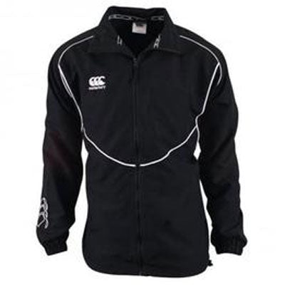 10 x Canterbury Kids Black Club Track Jacket (C07423) rrp£60, Now £7.19!! NO VAT!