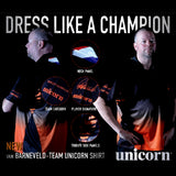 20 x Unicorn Raymond Van Barneveld Darts Official Player Jerseys / Shirts rrp£50 Only £10.39 each!!