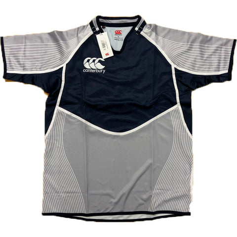 Last 28 x Canterbury Mens Rugby Silver/Grey Training Jerseys (B975510 991) rrp£45 - Now Only £5.39