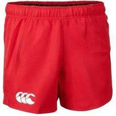 10 x Canterbury Men's Flag Red Professional Rugby Shorts (C07251) rrp£25, Now Just £5.49!!