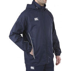 9 x Canterbury Men's Navy Full Zip Rain Jacket (C07384) rrp£45, Now Just £7.49!!