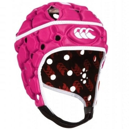 10 x Canterbury Men's Fuschia Ventilator Headguards (C07285) rrp£50, Now Just £5.99!