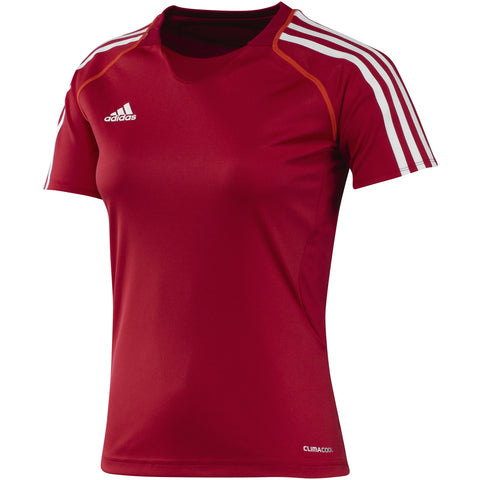 27 x adidas Womens ClimaCool  T12 Short Sleeved Teamwear T-Shirts (X13855) rrp£30 - Incredibly Only £5.49