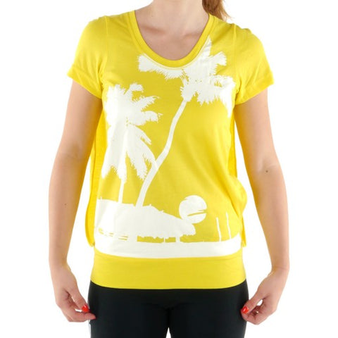 35 x adidas Stella McCartney Lemon Peel Womens T-Shirts (X44741) rrp£65 - Incredibly Only £2.99