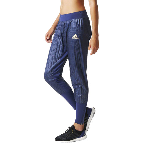 Last 17 x adidas Women's Adizero Running Track Pant (AA5282) rrp£60 Selling For Only £12.99!