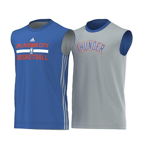 20 x adidas Oklahoma City Reversible Winter Hoops Basketball Vests (XL) rrp£50 Only £14.19!!