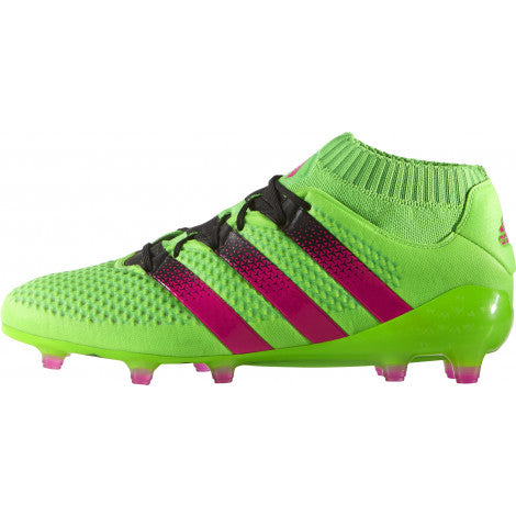 Last 7 x adidas Ace 16.1 Primeknit Firm Ground Mens Football Boots rrp£185 (AQ5151) - Was £41.99 Now £27.99