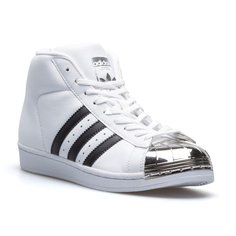 Last 7 x adidas Originals Hi Tops Pro Model Metal Toe Womens Trainers BB2131 rrp£110 Now ONLY £22.99
