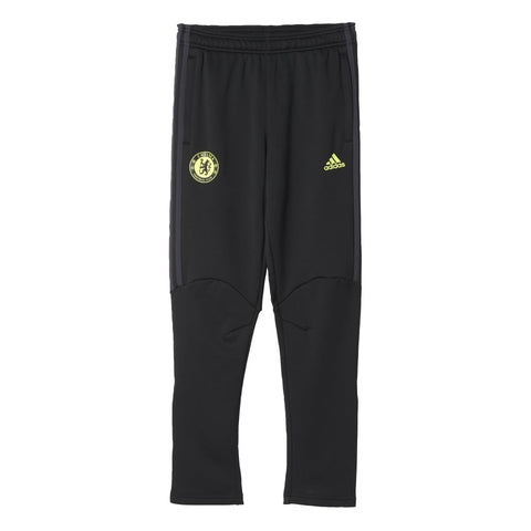 Last 19 x adidas Chelsea FC Junior Presentation Trousers Age 15-16 Years (AY1728) rrp£40 Only £10.99