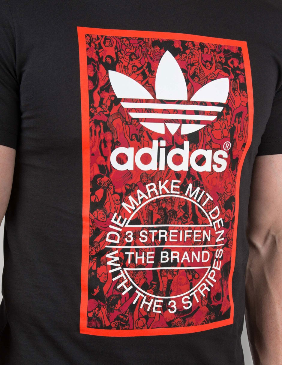 0707f2e1847140 Adidas Originals Trefoil Tongue T Shirt