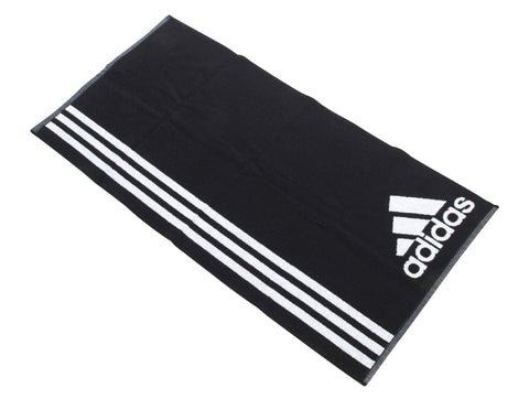 40 x adidas  Large 3 Stripe Sports Towels 100% Cotton 430g Terry Quality rrp£30 Only £6.49!!