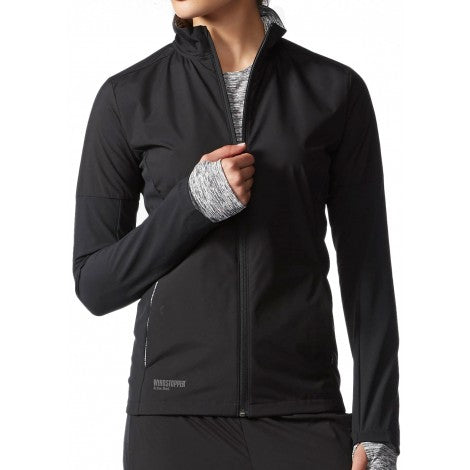 Last 12 x adidas Supernova Gore Windstopper Womens Running Jacket - AA0600 - rrp£95 Only £25.99